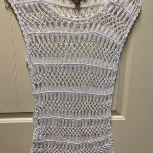 Tommy Bahama crocheted top